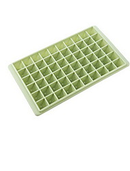 60 Grid Plastic DIY Originality Ice Mould Ice Box With Cover