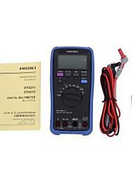 Hioki / day multímetro digital dt4211-30 tela grande para fácil operação