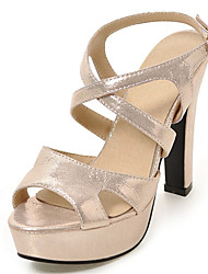 Women's Shoes Chunky Heel Peep toe Platform Strappy Sandal More Color Available