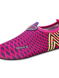 Frauen-Müßiggänger&Slip-ons Frühling Sommer Komfort Paar Schuhe Licht Sohlen Stoff Outdoor Fuchsia Upstream Schuhe