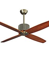 Ventilateur de plafond ,  Rustique Retro Rétro Bronze Fonctionnalité for Designers MétalSalle de séjour Chambre à coucher Salle à manger