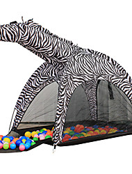 Kid's Zebra Playhouse Outdoor Fun & Sports House Children's Play Tents Indoor