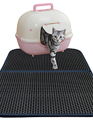 Sophisticated Honey Comb Double Layer EVA Foam Cat Litter Trapper Easy Clean