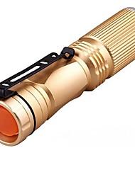 Lanternas LED LED Lumens Modo 14500 AA Tamanho Compacto Tamanho Pequeno Fácil de TransportarCampismo / Escursão / Espeleologismo Uso