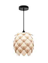 E27 d-07p designer style artichaut stratifié en plafond suspendu éclairage clair éclairage