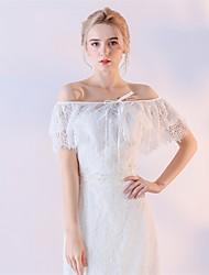 Women's Wrap Capelets Lace Wedding Lace