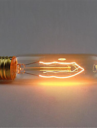 110 / 220v t10 1шт ретро атмосфера Edison шелка вольфрама лампочка