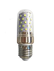 10w e14 / e27 привело кукурузные огни t smd 2835 1000 lm теплый белый / белый ac85-265 v 1 шт.