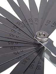 Sata Fühlerlehre 23 Stück (0.02-1.00mm) 09405 Messwerkzeug