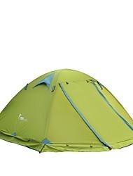 3-4 Pessoas Tenda Dobrada Um Quarto Barraca de acampamentoCampismo Viajar