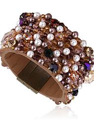 Mulheres Bracelete Moda Vintage Liga Forma Redonda Jóias Para Festa 1peça