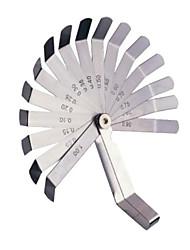 Sata Fühlerlehre 16 Stück Messwerkzeug 0,05-1,00mm