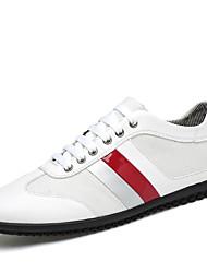 Herren-Sneakers Frühjahr fallen Komfort PU lässig schwarz weiß