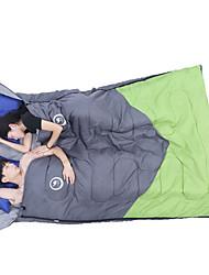 Sleeping Bag Rectangular Bag Double -3 15 20 T/C Cotton 218X150 Camping Moistureproof/Moisture Permeability Keep Warm