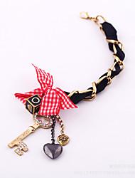 Femme Charmes pour Bracelets Mode Alliage Formé Carrée Forme de Coeur Forme de Noeud Bijoux Pour Halloween Regalos de Navidad 1pc