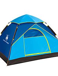 3-4 persons Tent Double Automatic Tent One Room Camping Tent 1500-2000 mm FiberglassMoistureproof/Moisture Permeability Waterproof