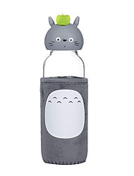 300ml Mini Convenient Travel Glass Cartoon Water Bottle Drinkware
