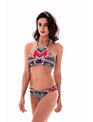 Damen 2mm Neopren- Komfortabel Baumwolle Taucheranzug Ärmellos Bademode-Schwimmen Sommer Sexy Urlaub Schwarz/Rrot