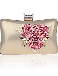 L.west Women Elegant High-grade Luxury Flower Evening Bag