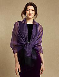 Женщины обертывают платки шелковые свадебные вечеринки / вечерние кисточки