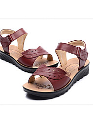 Women's Sandals Spring Comfort Leather Casual