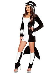 Costumes de Cosplay Animal Fête / Célébration Déguisement d'Halloween Autres Robe Jambières Halloween Féminin Spandex Térylène