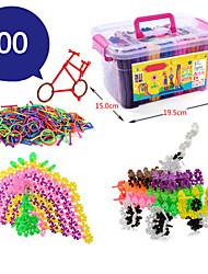 Snowflakes Piece Of Plastic In Large Kindergarten Boys And Girls 1-2-3-6 Years Old Children Fight Plug Toys Wholesale