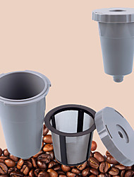 1Pcs  New Hot K-Cups Refillable Coffee Single Cup Reusable Filter For Coffee Machine  Stainless Mesh Capsule