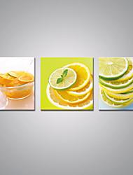 Отпечатки на холсте Продукты питания Modern,3 панели Холст Горизонтальная С картинкой Декор стены For Украшение дома