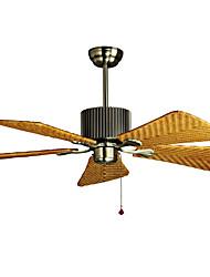 Ventilateur de plafond ,  Traditionnel/Classique Rustique Retro Bronze Fonctionnalité for Designers MétalSalle de séjour Bureau/Bureau de