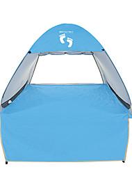 3-4 Personen Zelt Einzeln Automatisches Zelt Einzimmer Camping Zelt 1500-2000 mm Edelstahl OxfordFeuchtigkeitsundurchlässig Wasserdicht