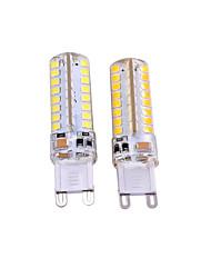 3W G9 Luces LED de Doble Pin T 64 SMD 2835 550-650 lm Blanco Cálido Blanco Decorativa AC 100-240 AC 110-130 V 2 piezas