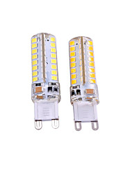 3W G9 Luci LED Bi-pin T 64 SMD 2835 550-650 lm Bianco caldo Bianco Decorativo AC 220-240 AC 110-130 V 2 pezzi