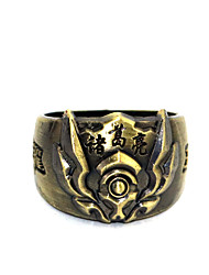 Inspired by Cosplay Zhu Geliang Anime Glory Of The King Ring Golden Alloy