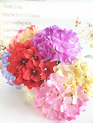 Single Hydrangea Wedding Flower Bride Bridesmaid Hand Bouquets(Can be any collocation)(1 pc)