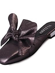 Women's Slippers & Flip-Flops Spring Comfort PU Casual Flat Heel Flower