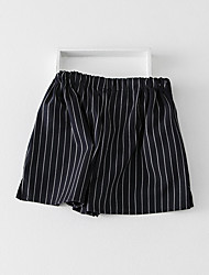 Women's High Rise Inelastic Shorts Pants Loose Solid