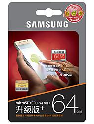 Samsung 64gb micro sd card tf карта памяти 100mb / s uhs-3 class10 evo plus evo