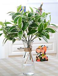 Mountain Tea Leaves Flower Green Plants Home Decor Artificial Flowers(1 pc)(3 color)