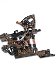 DragonHawk Professional Tattoo Machine 8 Warps Coils Cast Iron Fine Lining Machine For Beginner Tattoo Supply