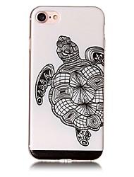 Для яблока iphone 7 7 плюс 6s 6 плюс se 5s 5 крышка черепахи крышка случая покрашенная сброс высокое проникание материал tpu случай