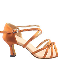 Sapatos de Dança() -Feminino-Não Personalizável-Salsa