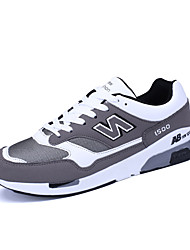 Männer athletische Schuhe Frühjahr fallen Komfort Tüll athletischen Casual Lace-up läuft