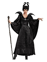 Cosplay Costumes Cosplay Festival/Holiday Halloween Costumes Solid Color Dress Halloween Carnival Female