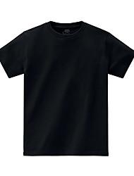 Tee-shirt Homme,Couleur Pleine Décontracté / Quotidien Plage Sportif simple Chic de Rue Actif Toutes les Saisons Eté Manches CourtesCol