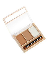 HML Eyebrow Pressed powder Matte Mineral Coloured gloss Multi-color Eyes Others