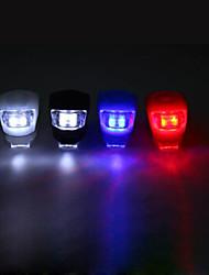 Luzes de Bicicleta Luz Traseira Para Bicicleta LED Ciclismo Tamanho Pequeno Atenção CR2032 Lumens Bateria Azul Vermelho Branco Quente