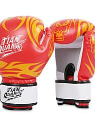 Boxing Gloves for Boxing Full-finger Gloves Protective Nylon Leather Blue Red Black