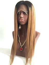 Beata Haar 1b / 33 gerade Spitze remy Menschenhaar natürliche Haarlinie vordere Perücke brasilianisch für schwarze Frauen