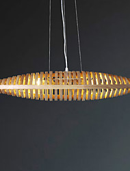 Luci Pendenti ,  Rustico Legno caratteristica for LED Legno/bambù Salotto Camera da letto Sala studio/Ufficio Camera dei bambini Ingresso